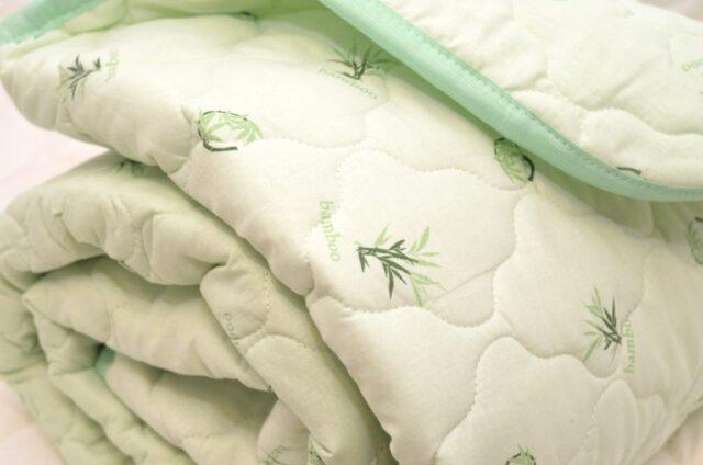 Одеяло бамбуковое в хлопке