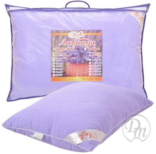 Подушка лаванда (Лавандовое волокно)
