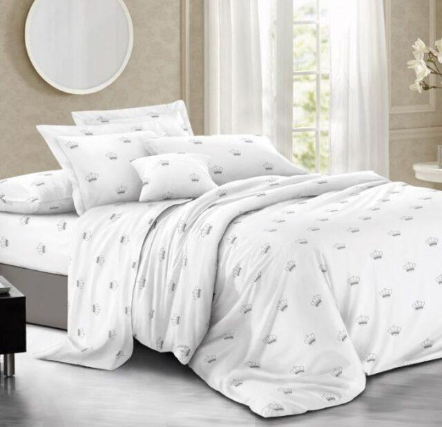 Купить комплект постельного белья сатин