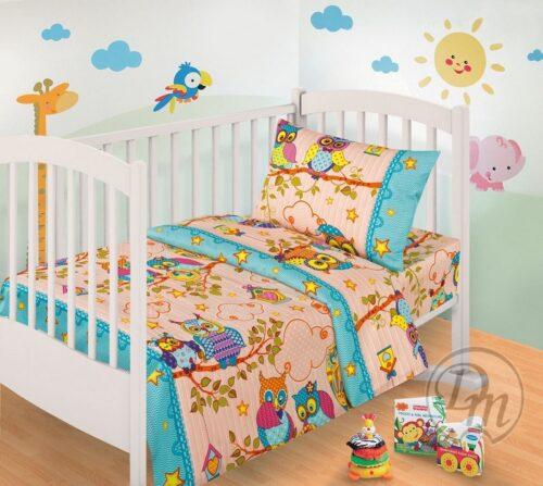 Комплект детского постельного белья купить поплин